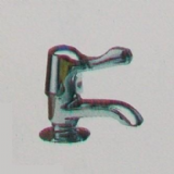 Pegler Performa Pillar Bath Lever Tap - Cold - 5800402C